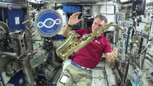 Paolo Nespoli from ISS